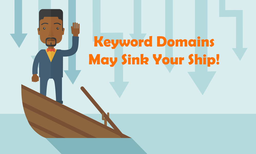 Brandeable domains are better than Keyword domains